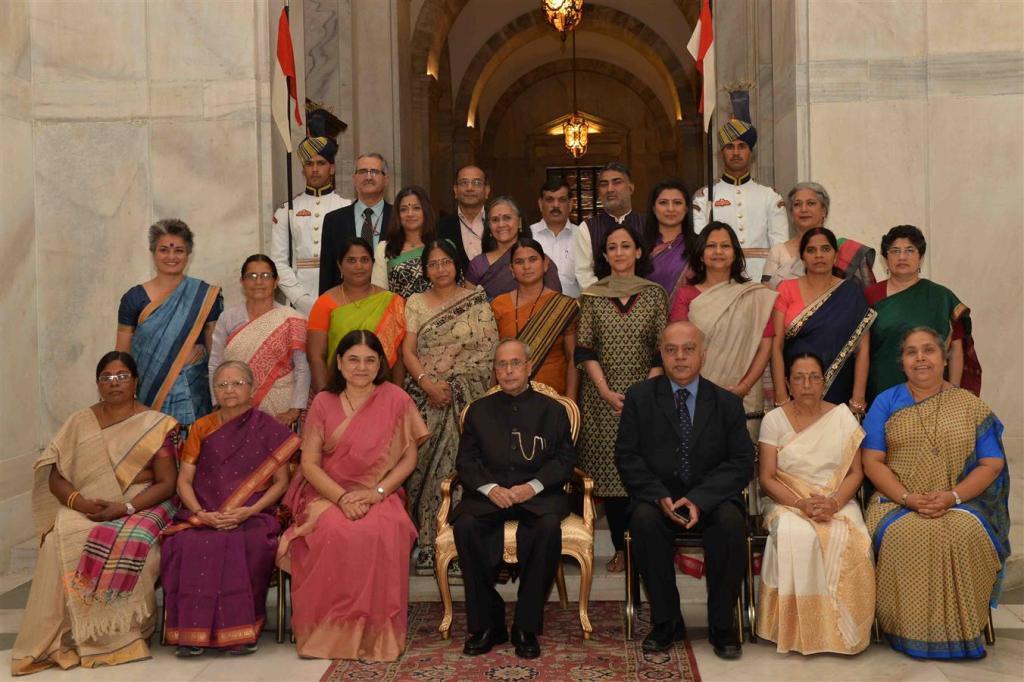 Awardees of Nari Shakti Puraskar,2015
