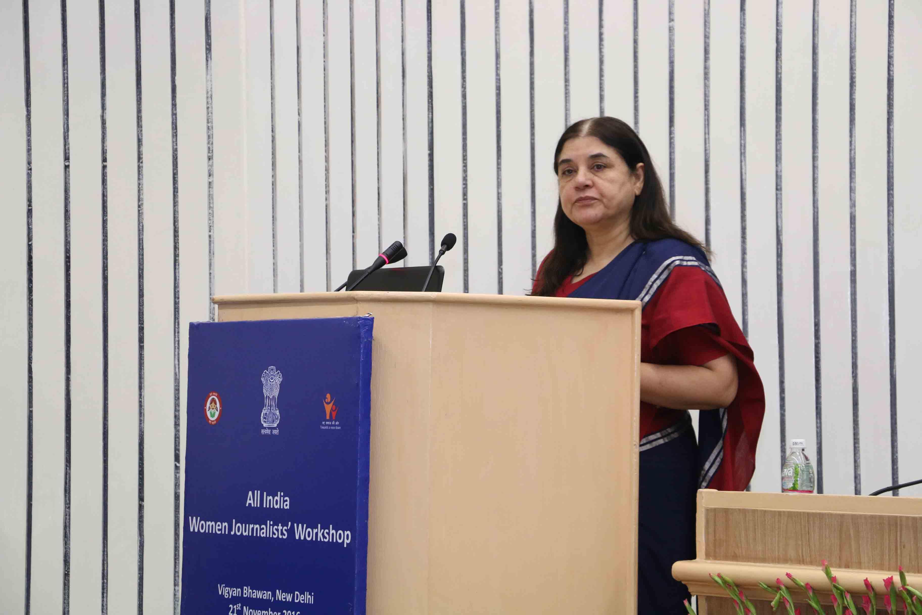 All India Women Journalists Workshop at Vigyan Bhawan 5