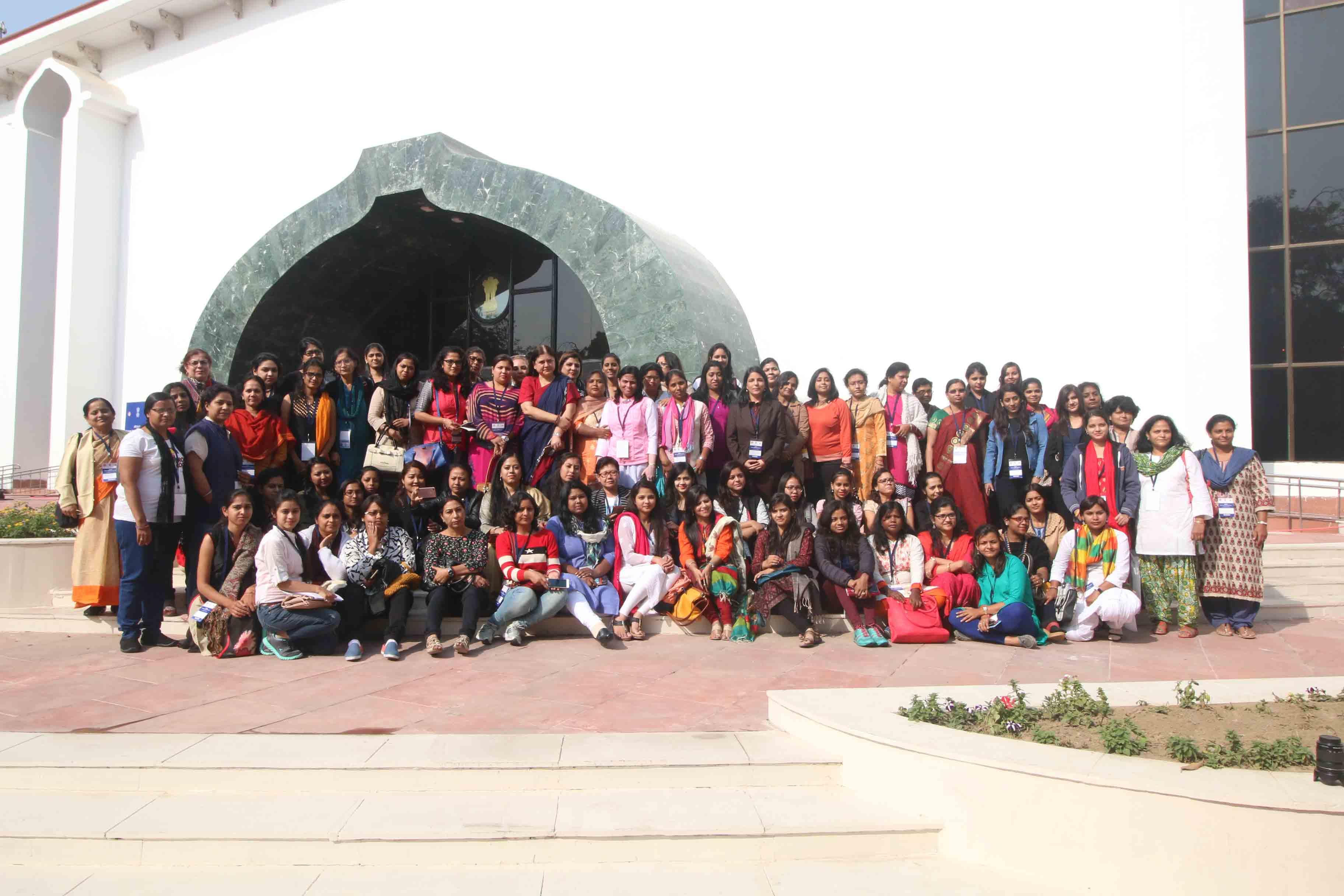 All India Women Journalists Workshop at Vigyan Bhawan 9