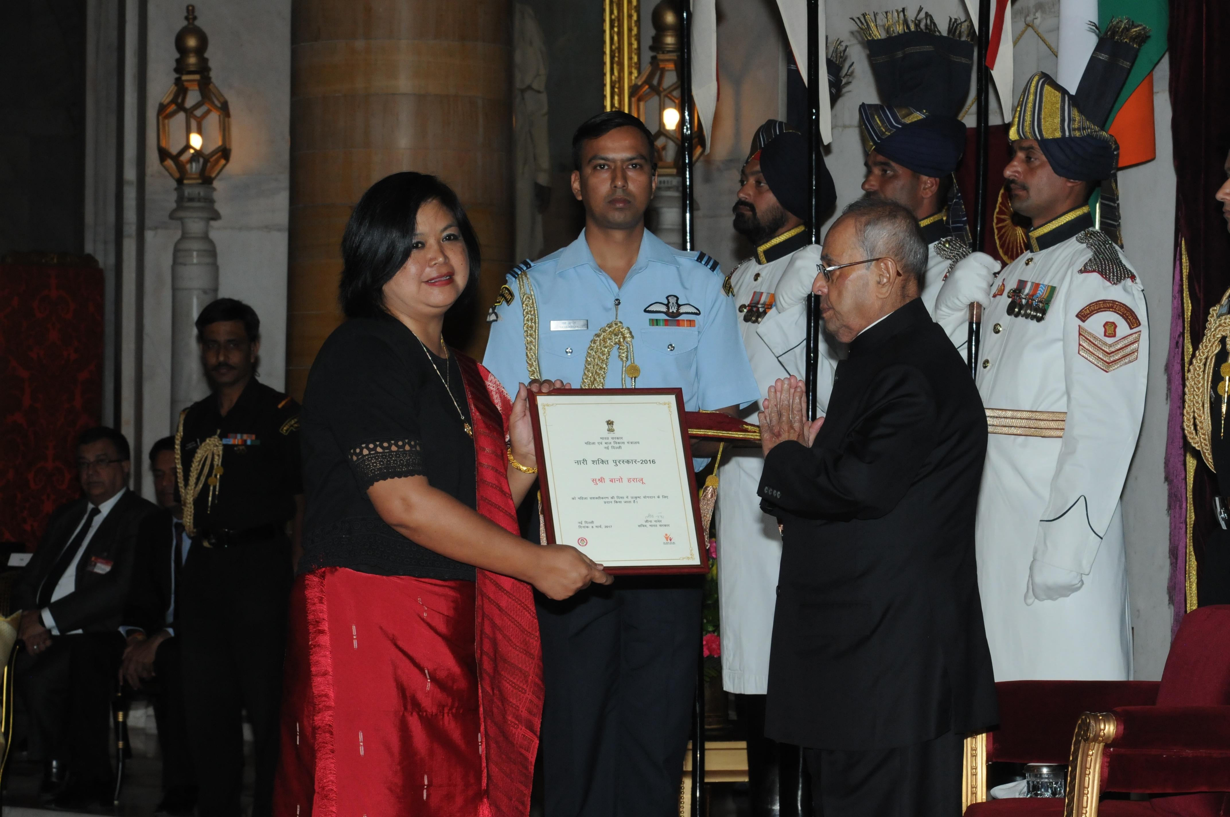 Nari Shakti Awardees- Ms. Bano Haralu, Nagaland